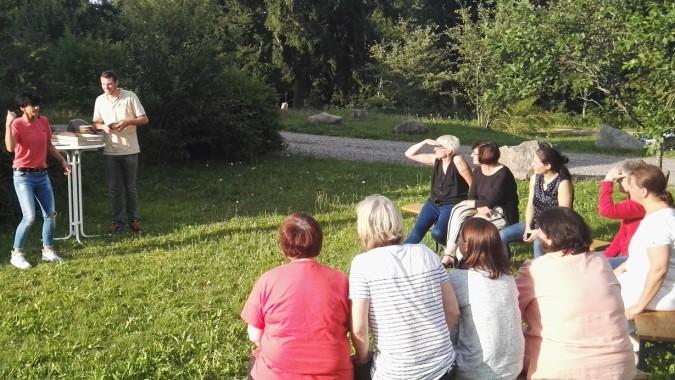 Erlebnisreiche Team-Spiele Beim Geschäftsausflug Im Schwarzwald