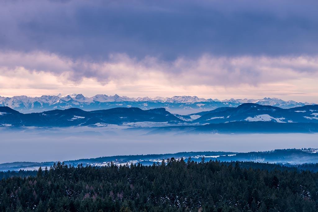 Alpenblick Schwarzwald