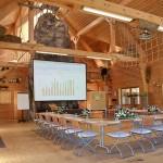 Die Tagungsstätte mit viel Raum an einem Ort in Baden-Württemberg