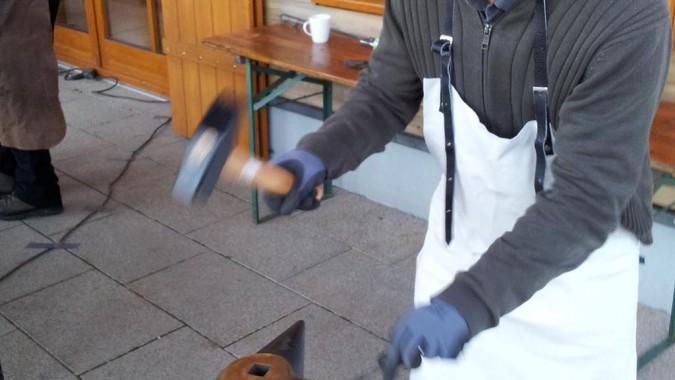 Schmieden einer eigenen Fonduegabel