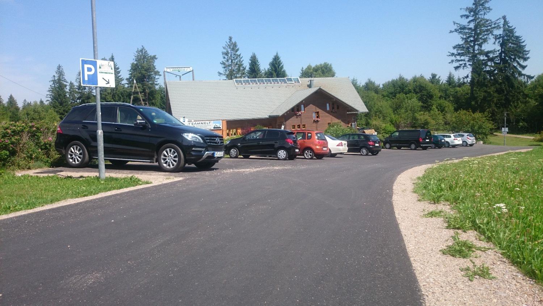 Parkplatz Teamwelt