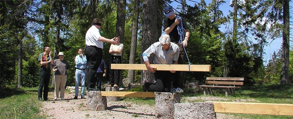 Teamtraining im Schwarzwald