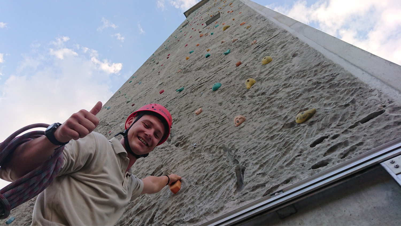 Teamwelt Kletteraktion im TV & Radio